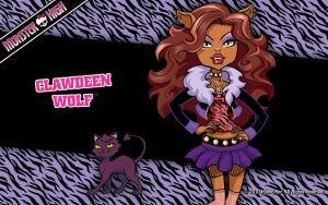 Clawdeen monster high by Starfire9821