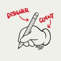 Designer and Client by mclelun