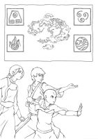 the legend of korra comic pag1 by new-ereon