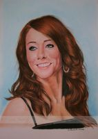 Alyson Hannigan II by WitchiArt