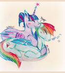 Redraw |TwiDash [Dreaming in Rainbows]| by TheElementOfMagic