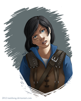 DA Portrait Request- Hawke by tsaizheng