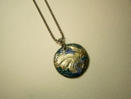 Starry Night Pendant by Valethia