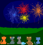 4th Of July Fireworks by foxopathic