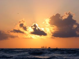 Gulf Coast Sunrise by Nevma