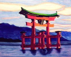 Japanese Shrine by ElsLavi