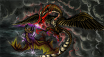 Collab- Dragon Fury by Moongirl18
