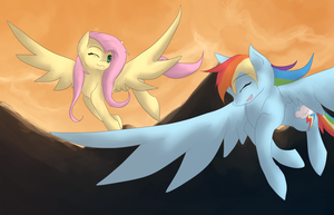 Evening Flight by Forever-Risa