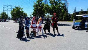 Sao cosplay in Anime North 2013 by Gedaru