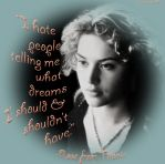 Rose From Titanic Dream Quote by Corset-Hoodies