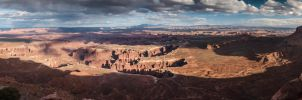 Canyonlands Panorama by TomGreenPhotos