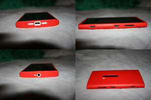 My Lumia 920 with red case by ProjektGoteborg