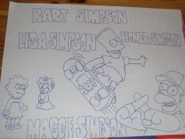 Simpsons by RebeccaG1999