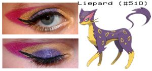Pokemakeup 510 Leipard by nazzara