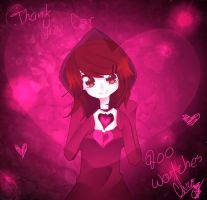 Thank You For 200!!! by ChromaticHearts