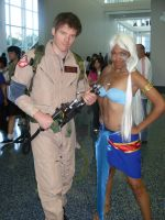 Kida and GhostBuster by xAleux