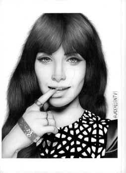 Ksenia Solo Drawing Lost Girl Orphan Black by JadeAllenTV