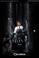 MDNA Tour Olympia DVD Cover by Mithrandir29