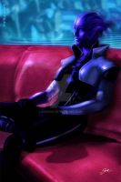 Aria T'Loak - Mass Effect by Sabrine