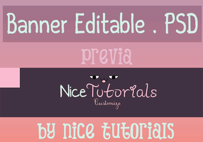 Banner Para Youtube by NiceTutorials
