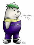 Ice Bear would be a perfect Ferb by Leibi97