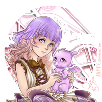 Lucky and Amethyst Portrait by Anante