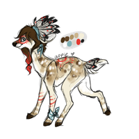 Deer design by pandoras-island