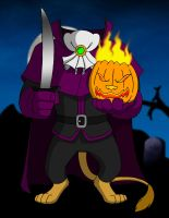 Benny as The Headless Horseman by BennytheBeast