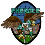 Stained Glass Badge by Pheagle-Adler