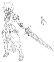 Figure Practice - Standing - Elsword by Shy-Ale-160