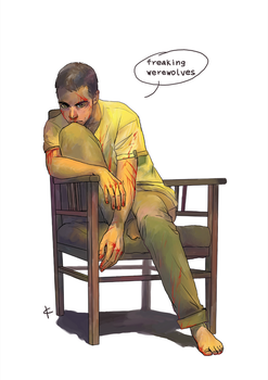 Teen Wolf FanArt: It's last time you do that by NinaKask