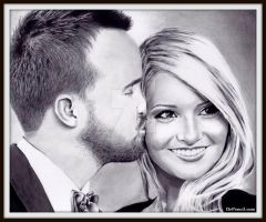 Aaron and Lauren Paul - BREAKING GOOD by Doctor-Pencil