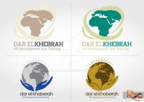 Dar el-Khabera Hr Co. Logo by rananaguib