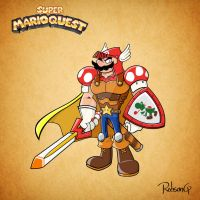 Super Mario Quest - Mario, the Gallant Knight by RobsonG