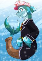 Jazryn the Flotsam by Akane-The-Fox
