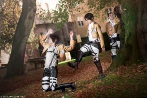 Attack on Titan - Let's motivate Jaeger. by HaruShimizu