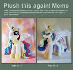 Plush this again: Celestia by MagnaStorm