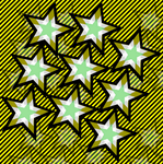 Star Pattern Graphic by Devil-TheDeviant