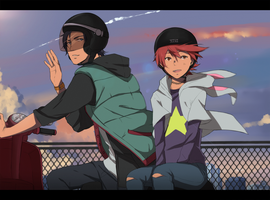 Let us ride off into the sunset by SimplyLiah