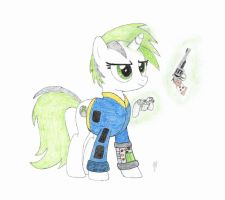 Boxy played Fallout Equestria by mzx-90