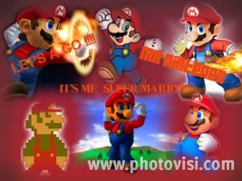 Super Mario Tribute by AngelMaria89