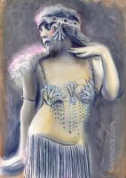 vintage dancer by cannibol