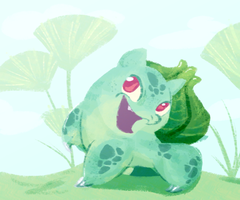 Happy Bulbasaur by Bedupolker