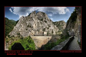Canyon of Matka 2 by mitatos