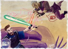 Jedi rough painting, vol.4 by gus-kitagawa