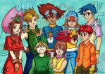 Digimon Adventure 15 Anniversary by Valaquia
