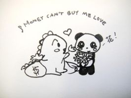 Money can't buy me love! by MelodicInterval