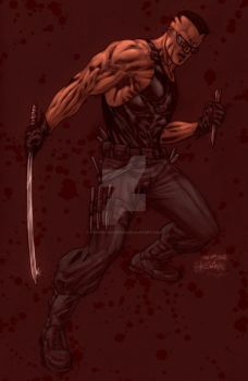 Blade by SpiderGuile by StephenSchaffer