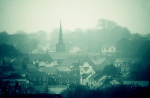 Haverfordwest in the fog by nectar666