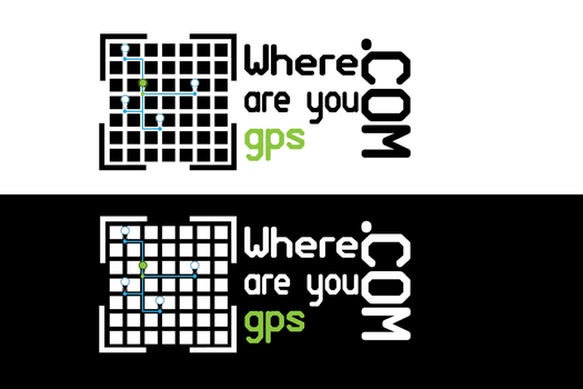 Where are your gps Logo by thefather10x